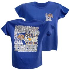 Memphis girls love their Tigers!  Go Tigers!