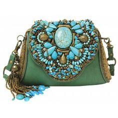 """Monterey"" #festivalfashion #turquoise #maryfrances www.maryfrances.com"