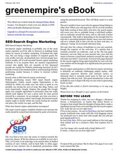 blogging-is-crucial-in-internet-marketing-e-book by greenempire via Slideshare