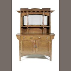 Arts and Crafts Oak Sideboard, circa 1905   in style of Liberty