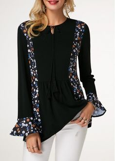 Stylish Tops For Girls, Trendy Tops, Trendy Fashion Tops, Trendy Tops For Women Page 15 Stylish Tops For Girls, Trendy Tops For Women, Blouses For Women, Women's Blouses, Formal Blouses, Look Formal, Hippy Chic, Trendy Fashion, Womens Fashion