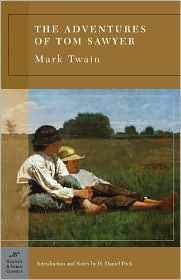 The Adventures of Tom Sawyer. A classic from my childhood.