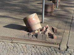 Kollateralschaden beim Einparken (Stephanplatz)
