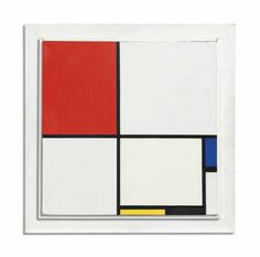 Piet Mondrian | Composition No. III , oil on canvas in the artist's painted frame (50 x 50.2 cm.) painted in 1929