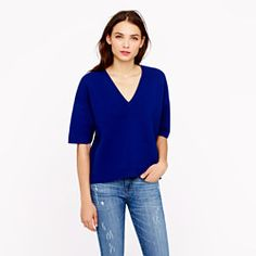 J.Crew Collection bonded merino sweater