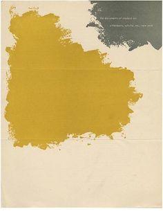 Paul Rand: WITTENBORN, SCHULTZ, INC. ANNOUNCE . . . [form title]. New York: Wittenborn, Schultz, 1949.