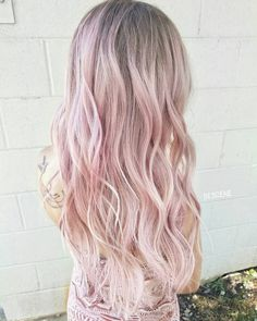 """8,182 Likes, 133 Comments - Linh PhanHAIRSTYLIST,COLORIST (@bescene) on Instagram: """"BABY BLUSH BLONDE soft tones of BLUSH pink and NUDE blonde using all @schwarzkopfusa &…"""""""