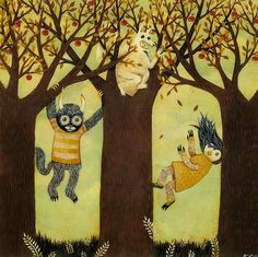 Lolley's Where The Wild Things Are Illustration