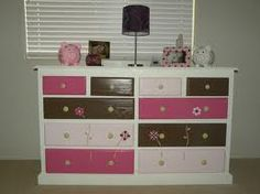 refinished girls dresser - Google Search