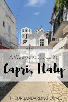 Capri, Italy, Anacapri, Amalfi Coast, Coast, Europe, Travel, Town Square