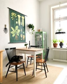 2 815 mentions J& 40 commentaires - MiMaMeise («MiMaMeise Small Room Design, Dining Room Design, Small Kitchen Tables, Small Dining Area, Vintage Kitchen, Home Kitchens, Luxury Kitchens, Home And Living, Home Remodeling