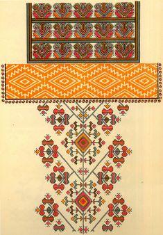 Folk Embroidery Patterns Folk Embroidery of Zastawna county, Cherniwtsi oblast, Bukovyna, Ukraine Palestinian Embroidery, Hungarian Embroidery, Folk Embroidery, Cross Stitch Embroidery, Embroidery Patterns, Cross Stitch Borders, Cross Stitch Patterns, Blackwork, Embroidery Techniques