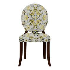 Found it at Wayfair - Lashley Flowers Side Chair