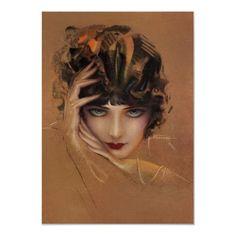 Art Deco Woman ~ by Rolf Armstrong Arte Art Deco, Moda Art Deco, Rolf Armstrong, Art Beat, Art Vintage, Vintage Paintings, Vintage Beauty, Pinup Art, Art Et Illustration