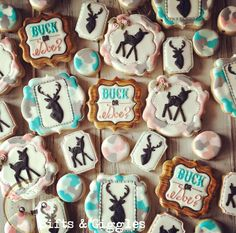 Buck or Doe? Gender Reveal Cookies for Jena! - Sifts and Giggles