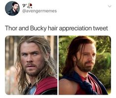 Concept: Bucky goes to love with the Asguardians after they settle on Earth - #AvengersInfinityWar #Thor #TheWinterSoldier #BuckyBarnes