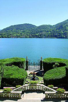 Villa Carlotta, Lake Como, Italy. Please like http://www.facebook.com/RagDollMagazine and follow @RagDollMagBlog @priscillacita