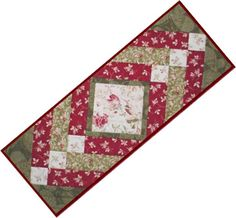 Download Winter Palace free table runner patterns by Maywood Studios
