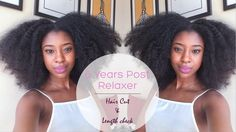 6 Years Post Relaxer, Length Check & How I Reshape/Cut My Hair  this my hair goal for life like her hair epitomizes the hair i want!!!!!