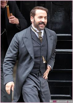 Jeremy Piven... MR Selfridge.  He is one of my first favorite actors