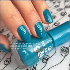 Essence Nail Polish: Lets Get Lost Sinful Colors, Winter Nail Art, Winter Nails, Nail Polish Colors, Gel Nail Polish, Essence Nail Polish, Essence Cosmetics, Gel Nail Designs, Nails Design