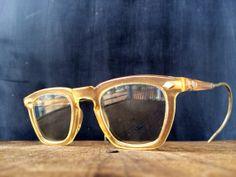 Men's Eyeglasses Military Issue Hipster Nerd Eyewear by veraviola, $45.00