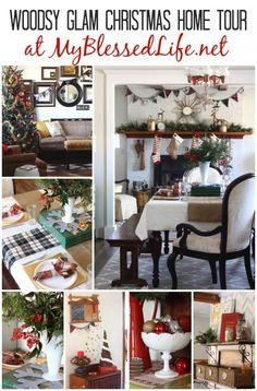 Cottage Christmas Home Tour | MyBlessedLife.net