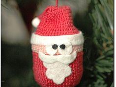 Мастер-класс: Дед Мороз из киндер-сюрприза - Ярмарка Мастеров - ручная работа, handmade