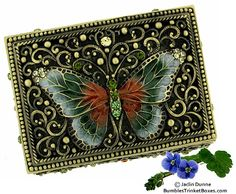Box With Butterfly on Lid - I MUST have this one!  I'm sending this link to my husband LOL