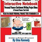 EXCELLENT PERSONAL FINANCE UNIT FOR ELEMENTARY STUDENTS: INTERACTIVE NOTEBOOK, ENRICHMENT WRITING PROJECTS AND TASK CARDS!  GREAT WAY TO TEACH STUD...