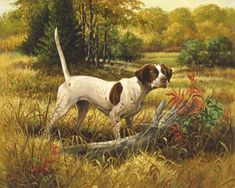 Linda Picken Art Studio / Pointer for Sam.jpg