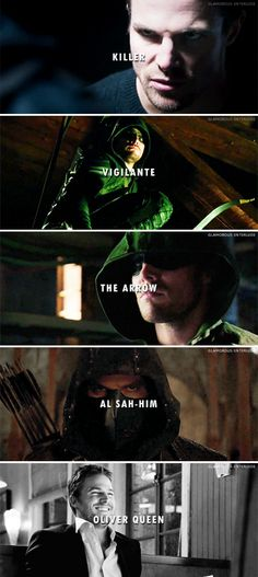 I must be something else. #Arrow