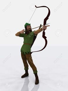 Image result for robin hood aiming bow
