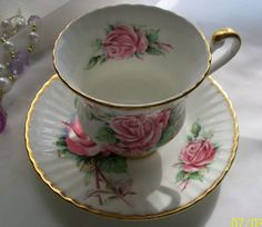 Vintage Paragon teacup   Appointment Majesty the by NewtoUVintage