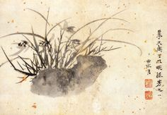 "Xu Wei(徐渭) , 《山水花卉人物图》  明 徐渭  北京故宫博物院藏     全册用水墨写意法画人物、山水、花卉,笔法纵逸,泼墨淋漓,形象简练生动,每开均有自题。此册技法全面,可以体现徐渭的才华纵横奔放,把写意画推向又一个高峰。这册作品,风格粗简恣肆,痛快淋漓。用笔枯淡浓湿、疏密虚实,俱在法度之中,此所谓""无法中有法""、""乱而不乱"",显示出作者的才华与性格。在中国绘画史上真正做到""似与不似""而又名实相符的,当以徐渭为典范。"
