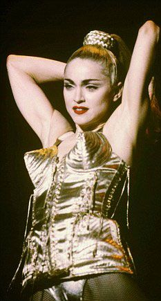 ~Madonna wearing Jean Paul Gaultier | House of Beccaria