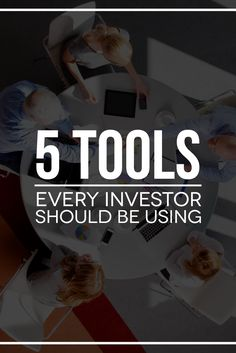 Investing doesn't have to be hard when you're using the right tools. Check out these 5 must-have tools you need to invest and build wealth.