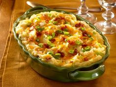 Get Creamy Loaded Mashed Potatoes Recipe from Food Network