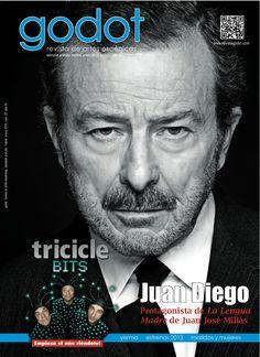 Juan Diego en la portada del nº 27. Enero 2013