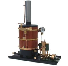 cylinder steam engine horizontal boiler with the steam engines