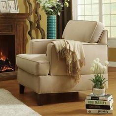 Living Room Chairs for Sale Prices – WalmartLiving Room Accent Chairs, Living Room Chairs, Living Room Decor, Rustic Chic Decor, Chairs For Sale, Small Spaces, Sweet Home, Furniture