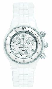 TechnoMarine Women's MoonSun Ceramic Silver-Plated White Watch -- You can get additional details at the image link. Sport Watches, Watches For Men, Wrist Watches, Women's Watches, Brighton Jewelry, 316l Stainless Steel, Gifts For Girls, Chronograph, Jewelry Stores