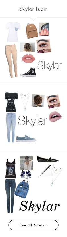"""Skylar Lupin"" by jjgodith22 on Polyvore featuring Helmut Lang, Converse, beauty, Alchemy England, Hollister Co., Madewell, NYDJ, Fendi, Fantasia and Chiara Ferragni"