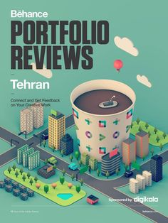 Tehran is welcoming the #BehanceReviews on Oct. 30th!
