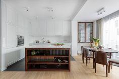 Apartament na Artystycznym Żoliborzu - Myhome - Kuchnia Nowoczesny/Modern