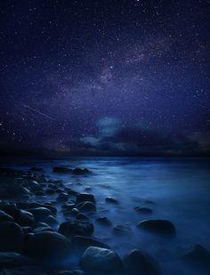 Starry Night at Sennen Cove