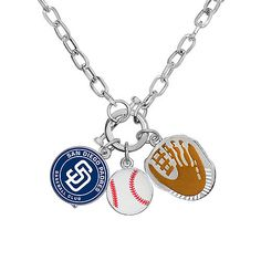 $25 San Diego Padres Charm Necklace by Game Time™  - MLB.com Shop