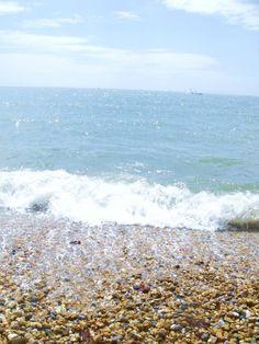 The beach of Lyme Regis