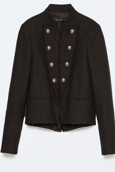 Zara militar wool jacket