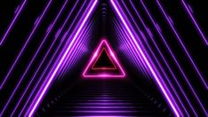 Ad: Beautiful Abstract Triangle Tunnel with Light Lines Moving Fast. Different Colors Rainbow. Background Futuristic Tunnel with Neon Lights. Iphone Background Images, Video Background, Animation Background, 3d Animation, Wallpaper Iphone Neon, Phone Wallpaper Images, Motion Backgrounds, New Backgrounds, Chroma Key